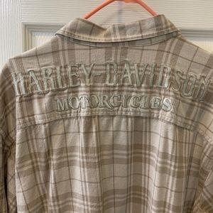 Harley-Davidson men's Flannel